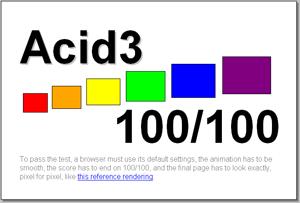 acid3 passed