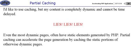 php caching